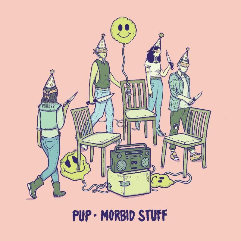 Pup announce new album 'Morbid Stuff.' The LP arrives on April 5, via the band's imprint Little Dipper and produced Dave Schiffman (Weezer, Cass McCombs)