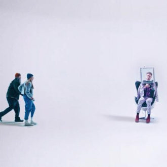 """PUP have released a video directed by Jeremy Schaulin-Rioux. """"Jeremy cooked up this hilarious concept of what all of our lives would be like in 40 years"""""""