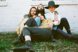 "Big Thief, will release U.F.O.F., their debut full-length for 4AD on May 3rd. Today, ahead of the release they have shared the first single, ""UFOF"""