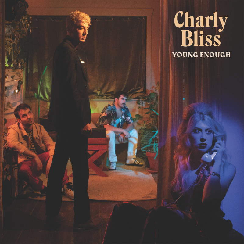 """Charly Bliss have announced their new album, Young Enough, with a video for single """"Capacity."""" Directored Michelle Zauner of Japanese Breakfast"""