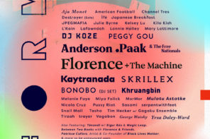 FORM Arcosanti, has announced it's 2019 lineup