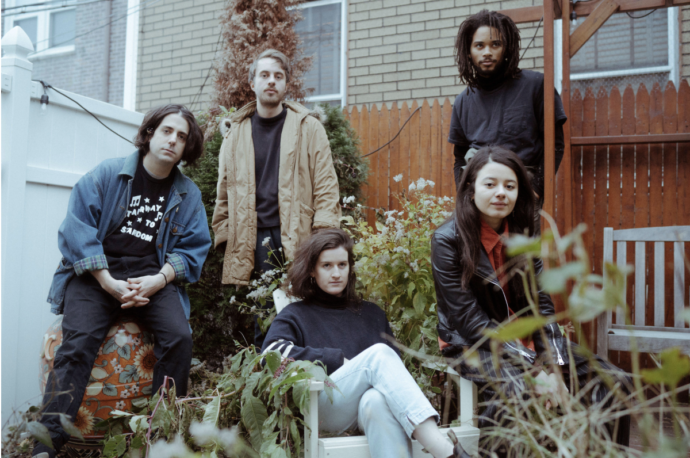 Brooklyn five-piece band Barrie have announced details of their debut album 'Happy To Be Here'
