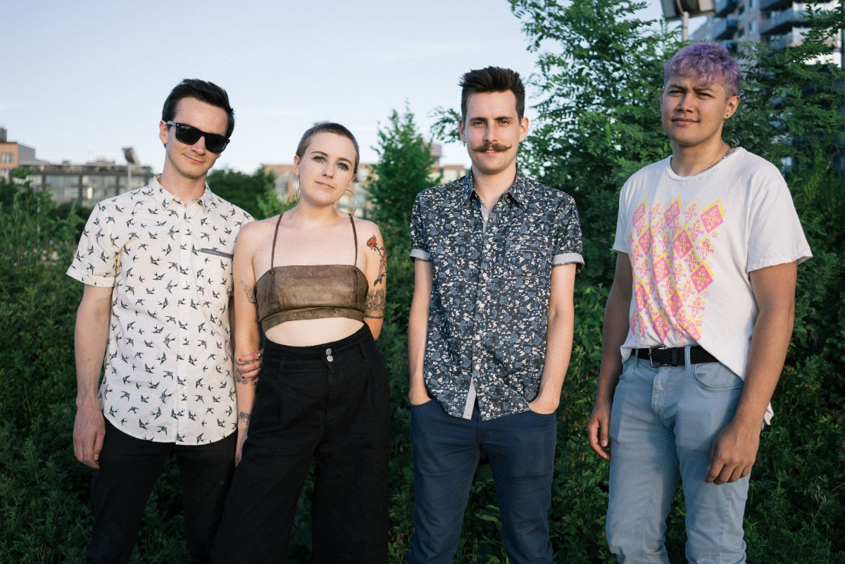 """""""Boys"""" BY UV Rays, is Northern Transmissions' 'Song of the Day.' The Brooklyn band play a record release show on March 2nd at Union Pool"""
