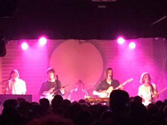 Parcels live in Vancouver, review for Northern Transmissions by Martin Aldred