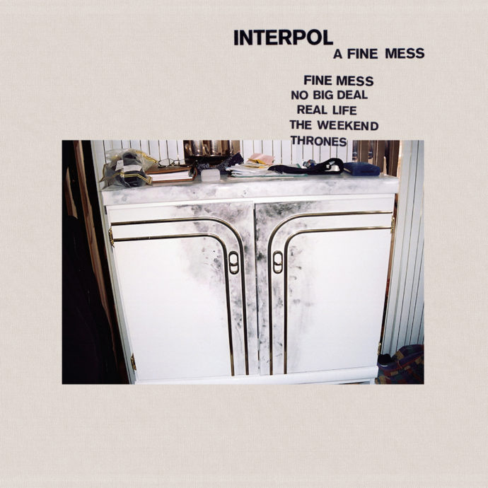 Interpol have announced their new EP A Fine Mess
