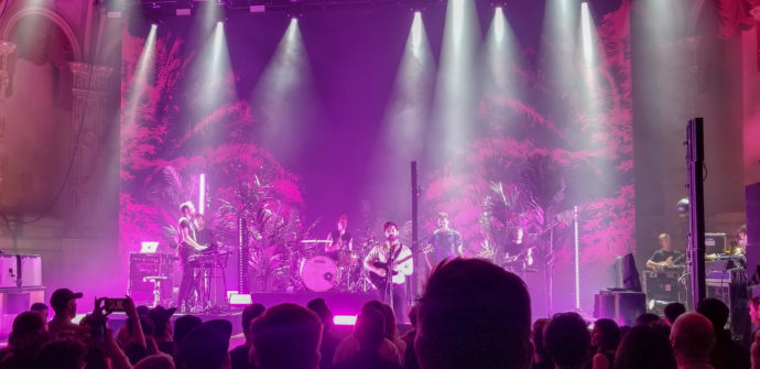 Kendall McLaughlin reviews, the recent Foals show At The Orpheum in Vancouver, BC, day two of the bands soldout appearance, in the Canadian city.
