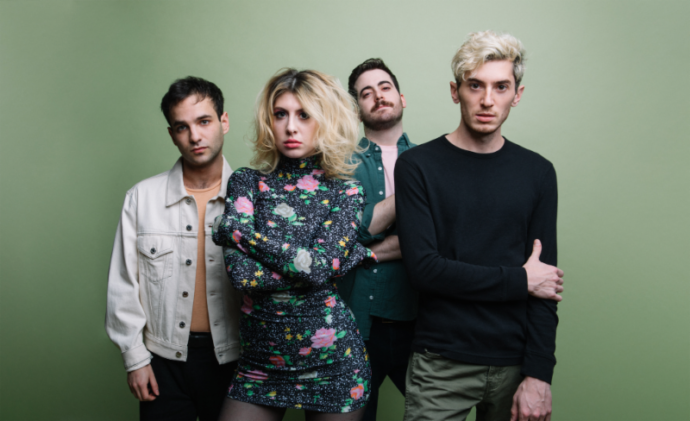 "Barsuk Recording artists and all around nice folks, Charly Bliss have shared the Maegan Houang-directed video for ""Chatroom"" is off Young Enough, out 5/10"