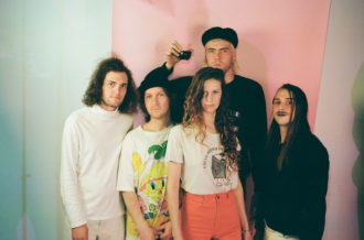 """Captured Tracks' Reptaliens have compiled a video of tour footage to accompany the second single, """"Venetian Blinds,"""" off their forthcoming release VALIS"""