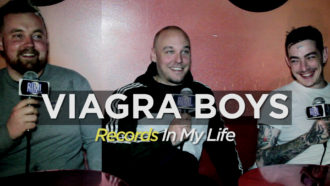 Sweden's best, Viagra Boys guested on 'Records In My Life.'