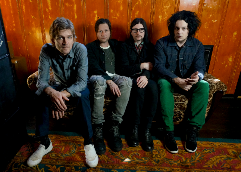 "The Raconteurs cover Donovan's ""Hey Gyp (Dig The Slowness)."""