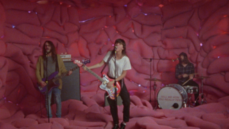 "Courtney Barnett has dropped a new video for ""Everybody Here Hates You."""