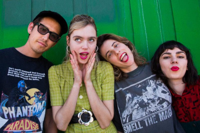 "Suicide Squeeze, have signed Los Angeles band The Paranoyds. They will will release a 7-inch this summer. ""Hungry Sam"" / ""Trade Our Sins"" will be out 7/12"
