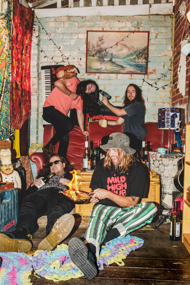 """Psychedelic Porn Crumpets Debut new video for """"Bill's Mandolin."""""""