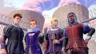 "black midi have released their new single, ""Talking Heads"""