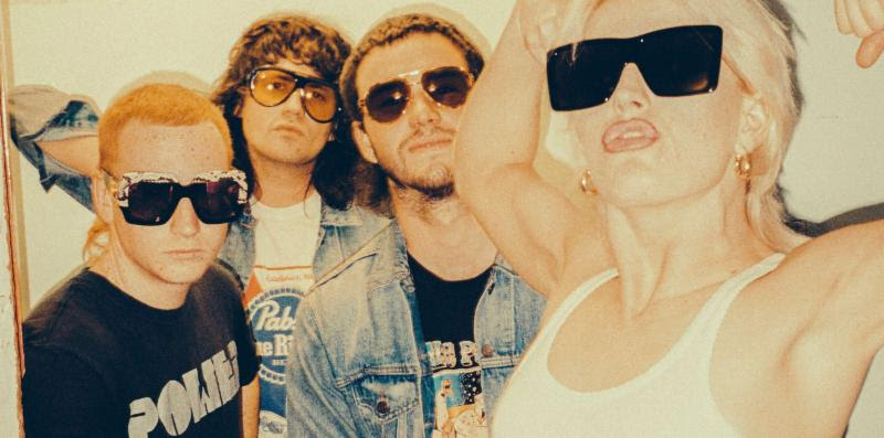 """Australian Band Amyl and the Sniffers have shared their new single """"Gacked On Anger."""" The track is off their current self-tited release, now out via ATO"""