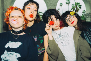 """""""Decoration/Currency"""" by Girl Friday, is Northern Transmissions 'Video of the Day.' The track is off the LA band's EP 'Fashion Conman."""