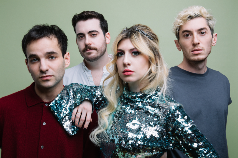 """Charly Bliss have debuted a video for """"Young Enough."""" The title-track is off their current release, now available via Barsuk Records"""