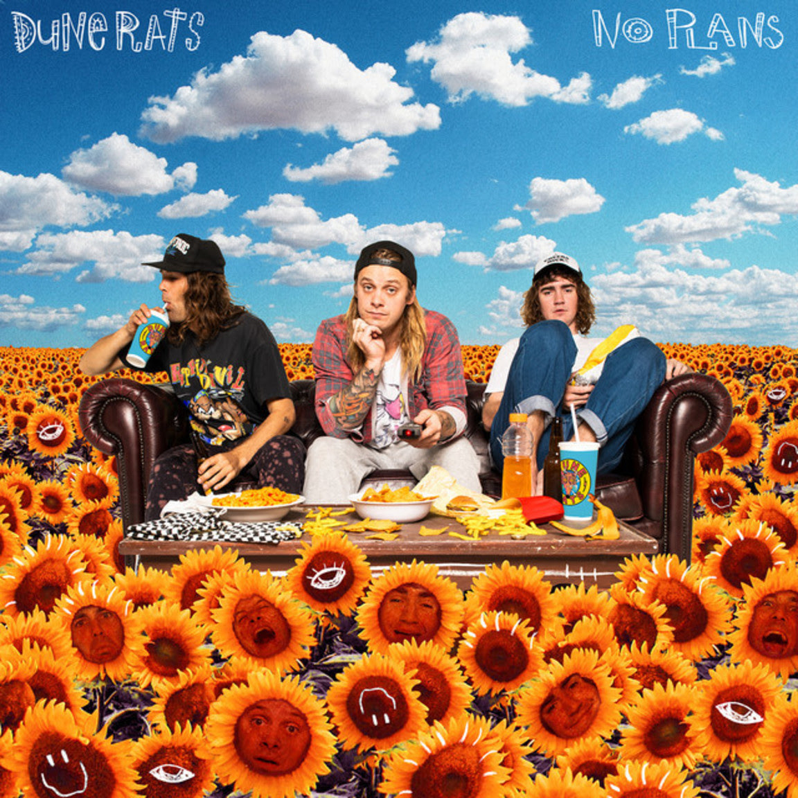 """Australia's Dune Rats have shared their new song """"No Plans"""""""