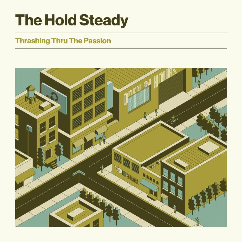 The Hold Steady will release their new full-length <em>Thrashing Thru The Passion</em>, August 16th via Frenchkiss Records. Ahead of the album's release