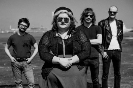 "Sheer Mag have shared a Jonathan Arturo-directed video for ""Hardly To Blame,"" the latest from their forthcoming release A Distant Call, out August 23"