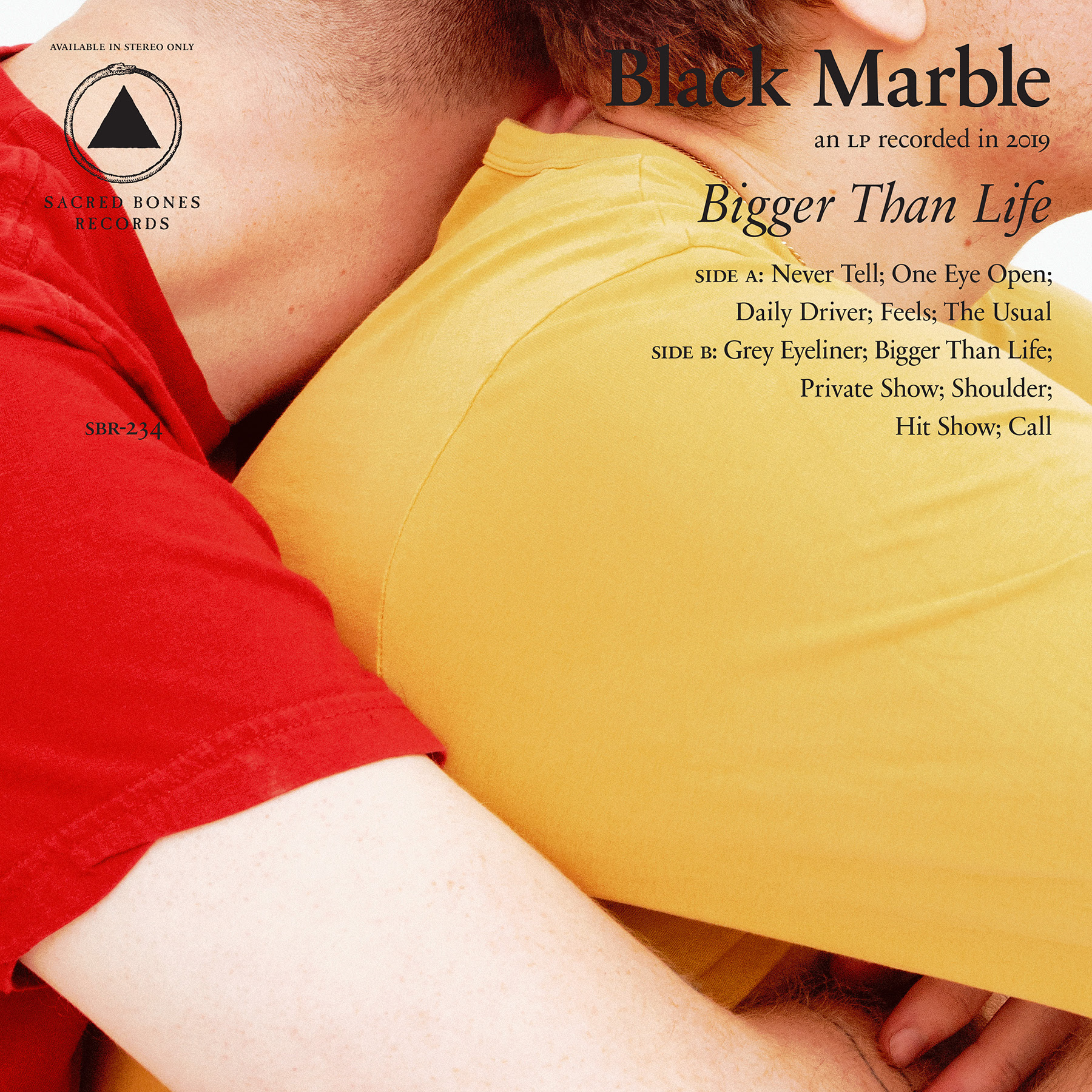 Black Marble has announced his new LP Bigger Than Life will be released via Sacred Bones (his debut for the label) on October 25th