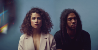 """Electric Youth, are vocalist, Bronwyn Griffin and multi-instrumentalist, Austin Garrick. The duo have shared their new single, """"ARAWA"""""""