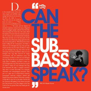 """Algiers have released """"Can the Sub_Bass Speak?"""