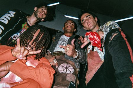 Vic Mensa has just released the debut project by his band 93PUNX