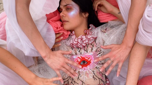 "Bat For Lashes Releases Video For ""The Hunger."" The track is off the Singer/Songwriter/Directors's forthcoming release 'Lost Girls,' out September 6th."