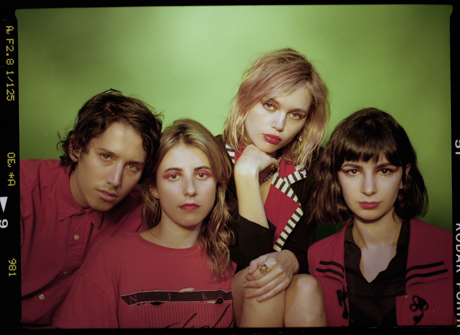 """""""Face First"""" by Los Angeles band The Paranoyds, is Northern Transmissions' 'Song of the Day'"""