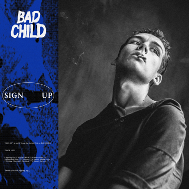 Bad Child 'Sign Up' album review by Dave Macintyre for Northern Transmissions