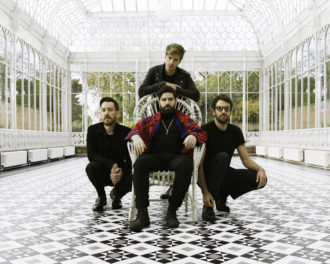 """Foals have shared the single """"Into The Surf."""" """"In 'Into the Surf' there's this shadow of death, of someone not returning from a voyage,"""""""
