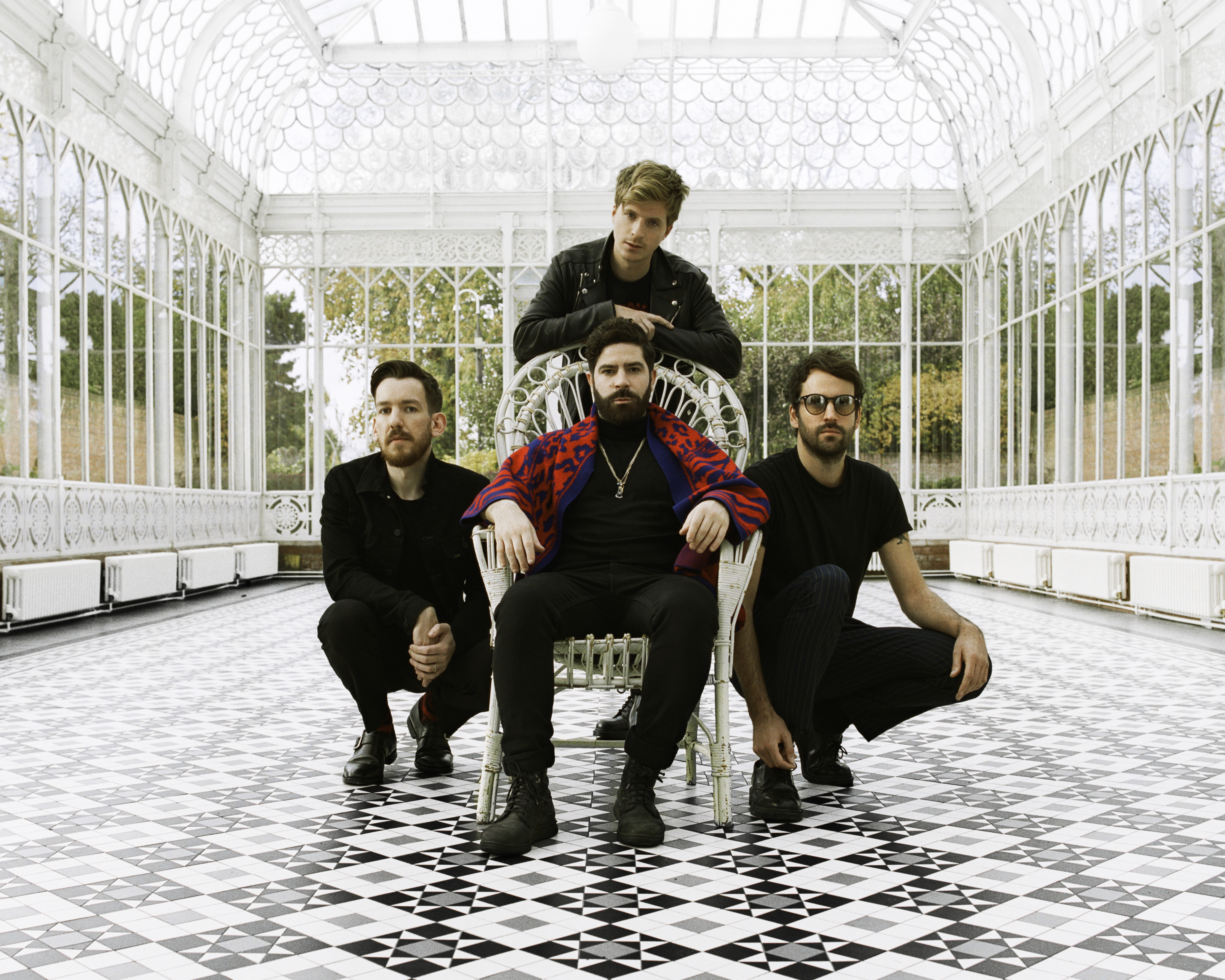 "Foals have shared the single ""Into The Surf."" ""In 'Into the Surf' there's this shadow of death, of someone not returning from a voyage,"""