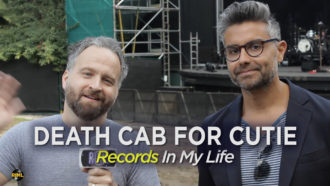 Death Cab For Cutie guest on Records In My Life