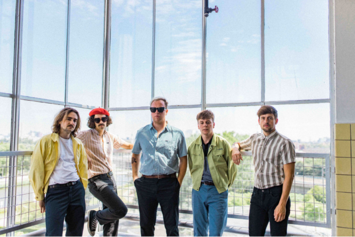 """Dutch band Iguana Death Cult, have released a video for """"Nature Calls"""""""