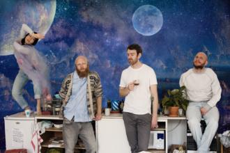 "Swedish quartet Little Dragon have dropped the new single ""Tongue Kissing"""