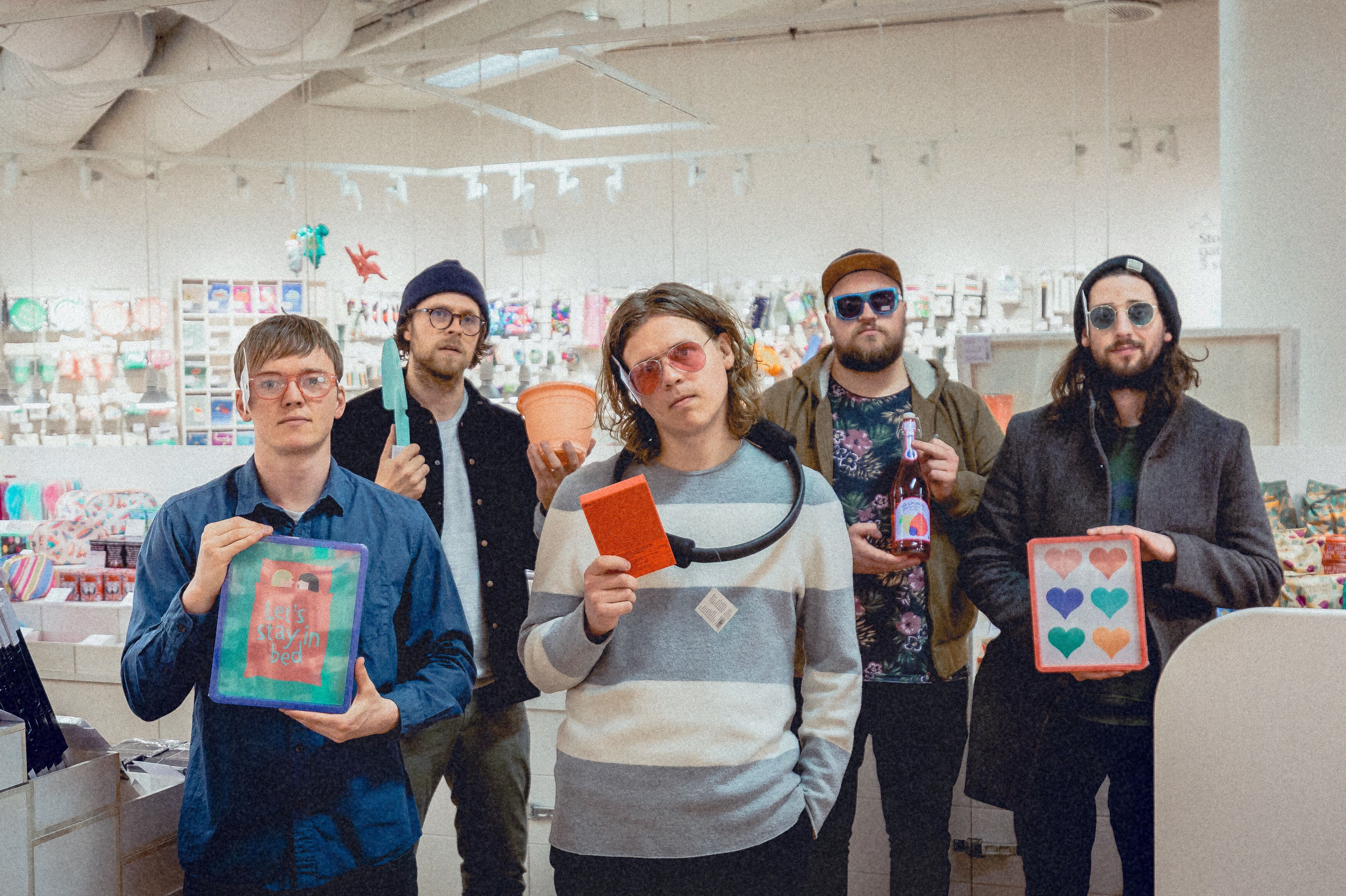 """The Modern Times drop new live video for """"Stuck At Work"""""""