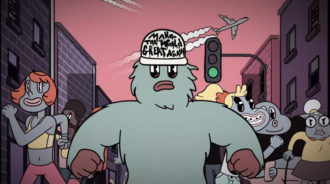 """Foals have released a new animated video for their song """"Like Lightning"""""""