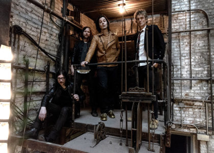 "The Raconteurs have announced ""Help Me Stranger"" b/w ""Somedays (I Don't Feel Like Trying)"""