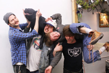 Detroit band, Teener release 'Auger' 7'