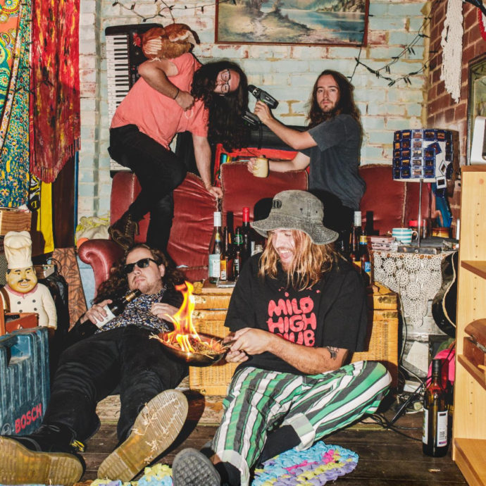 """Australian band Psychedelic Porn Crumpets have released a new video for """"Dezi's Adventure."""""""