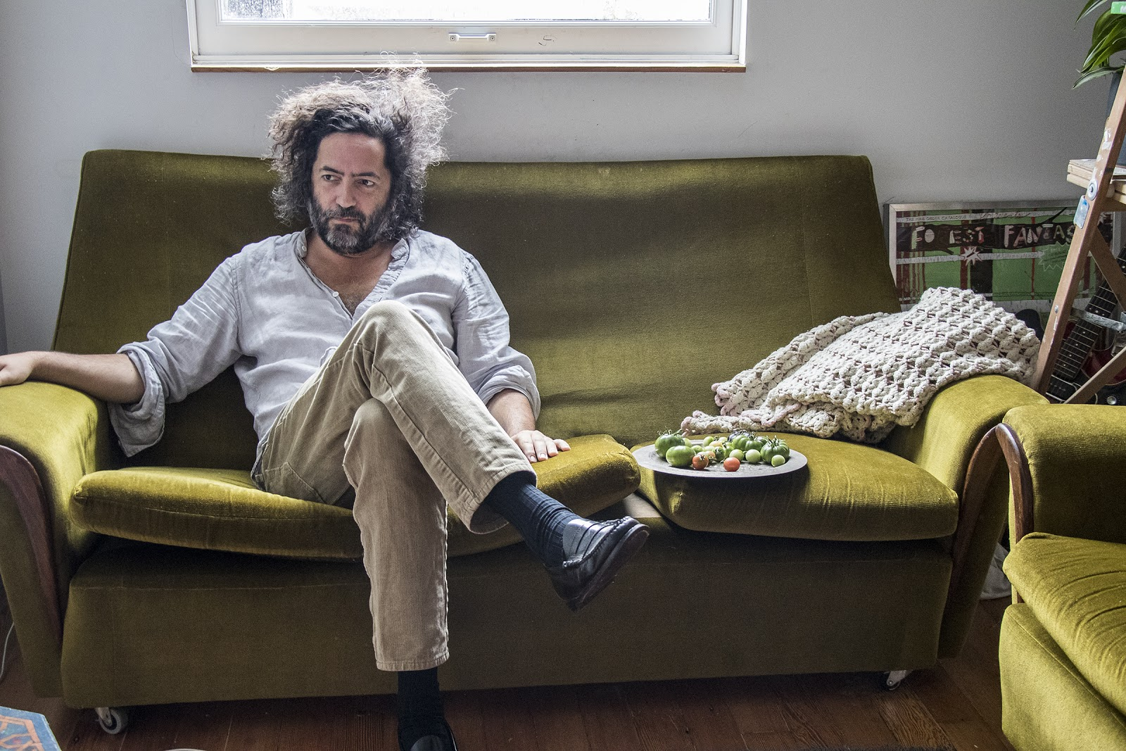 """Dan Bejar AKA: Destroyer has shared a new video """"Cue Synthesizer,"""" the latest single from the upcoming album, Have We Met, out on January 31st on Merge"""