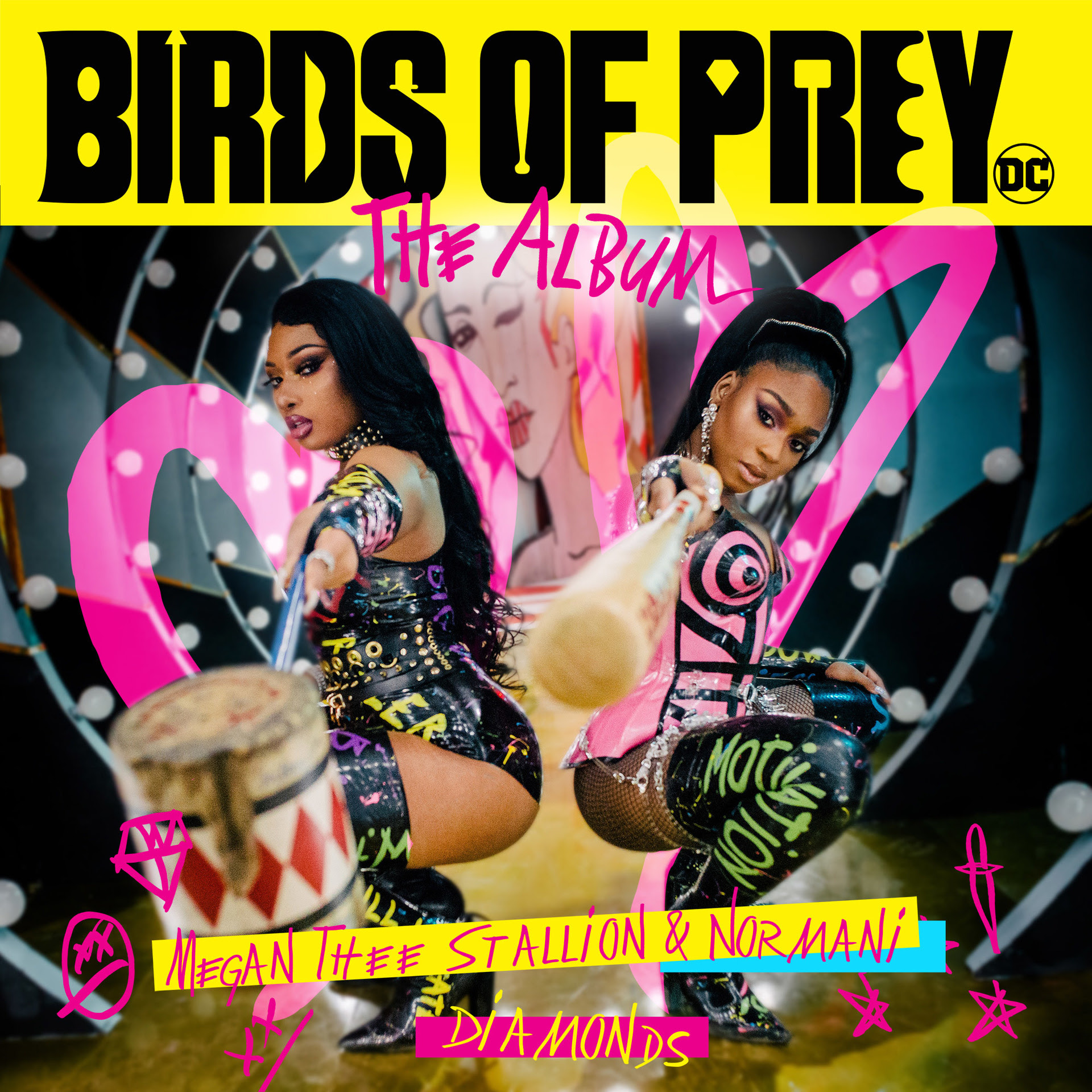 """""""Diamonds,"""" is the collaboration between Megan Thee Stallion and Normani, was recently released as the lead-single from the soundtrack Birds of Prey"""