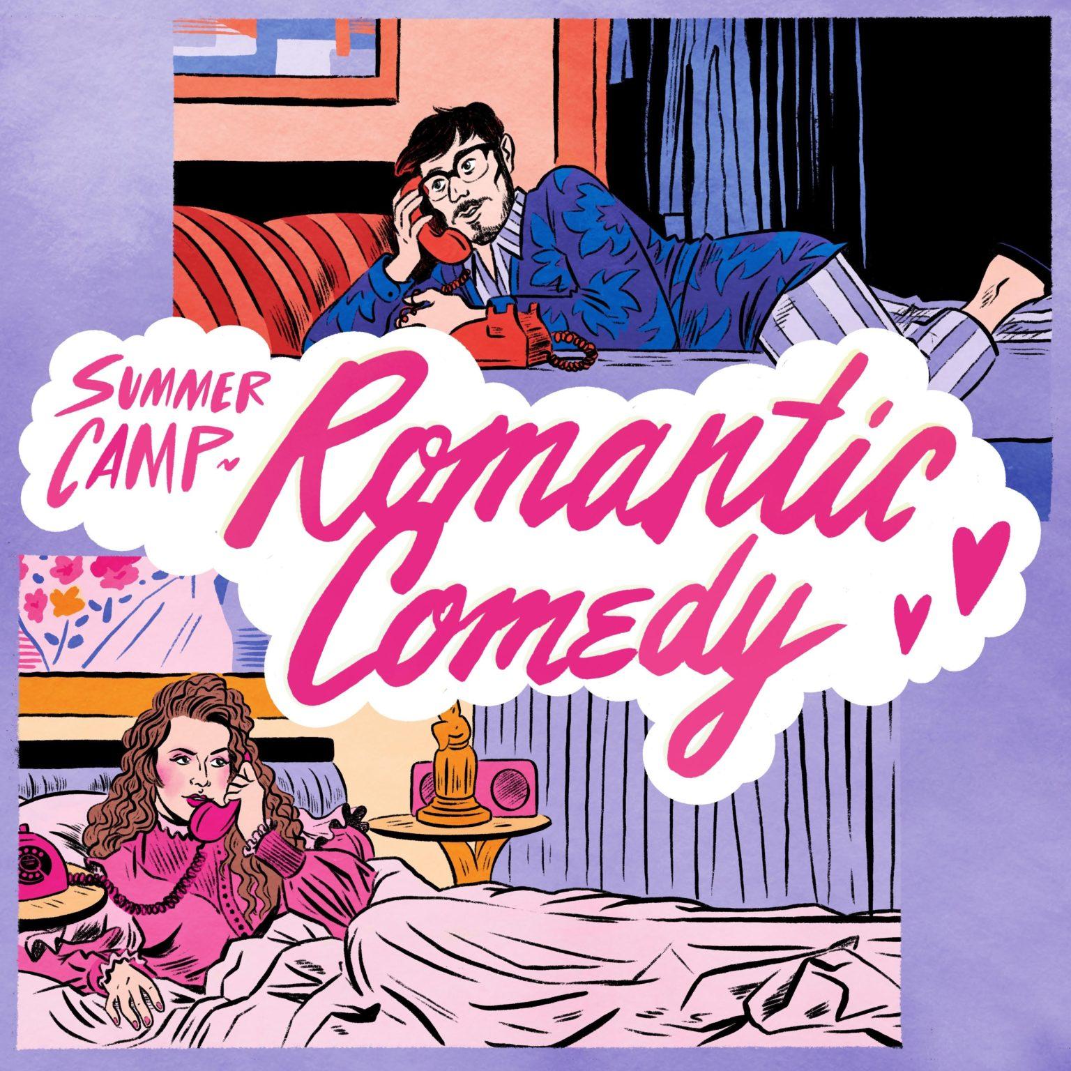British indie-pop duo Summer Camp stream Romantic Comedy