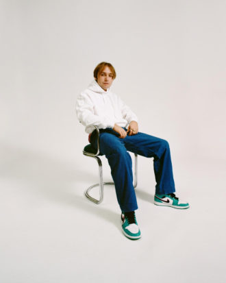 """Lewis OfMan shares his first song and video of the year. """"Attitude"""""""
