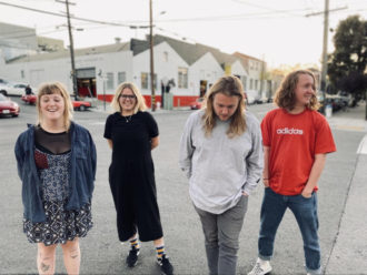 """Penelope Isles have released a video for """"Underwater Record Store"""""""