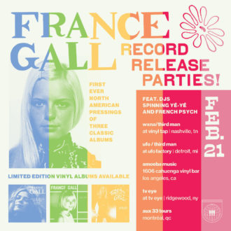 Third Man Records has announced three reissues of albums by France Gal
