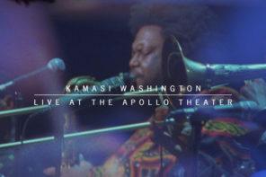 Kamasi Washington will release Kamasi Washington Live at The Apollo Theater