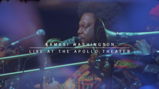 Kamasi Washington will release Kamasi Washington Live at The Apollo Theater