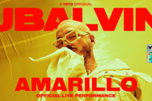 "J Balvin releases live performance of ""Amarillo"""